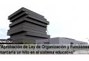 """✅[MINEDU]""""Aprobación de Ley de Organización y Funciones  en el sistema educativo"""""""